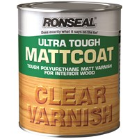 Ronseal  Ultra Tough Varnish Matt - 250ml