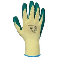 Portwest  Grip Glove in Bag - Yellow & Green