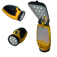 Ultralight  Rechargeable LED Torch with Flip-Up Light