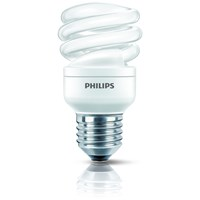 Philips Tornado E27 Energy Saver Spiral Light Bulb - 15W